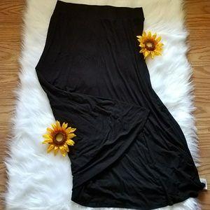 Torrid Black Maxi Skirt
